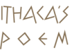Logo   Ithaca's Poem, summer holiday accommodation in the Ionian Sea island of Ithaca, Greece, home of Homer's Ulysses