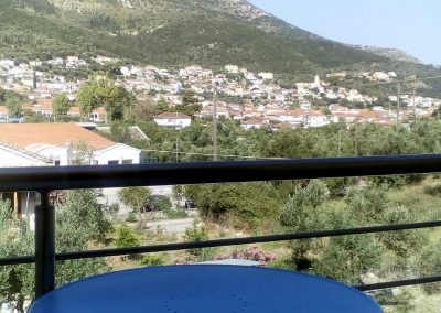 Apartment with balcony | Ithaca's Poem, summer holiday accommodation in the Ionian Sea island of Ithaca, Greece, home of Homer's Ulysses